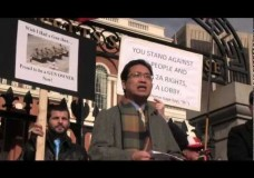 Former Chinese student dissident, now U.S. citizen, makes rousing speech at Second Amendment demonstration